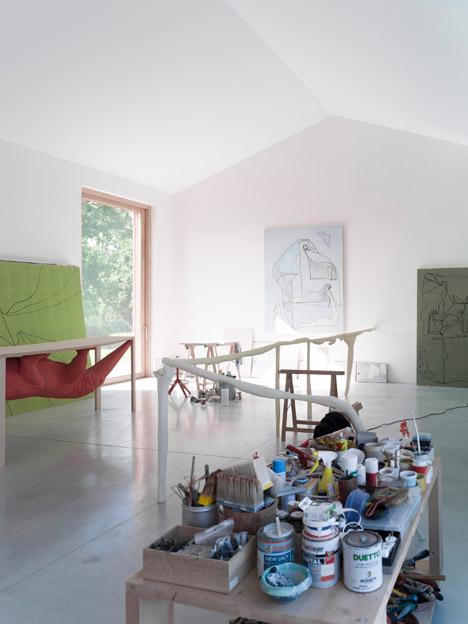 Artist's Studio by Studio Zero85
