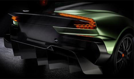 Aston Martin Vulcan car