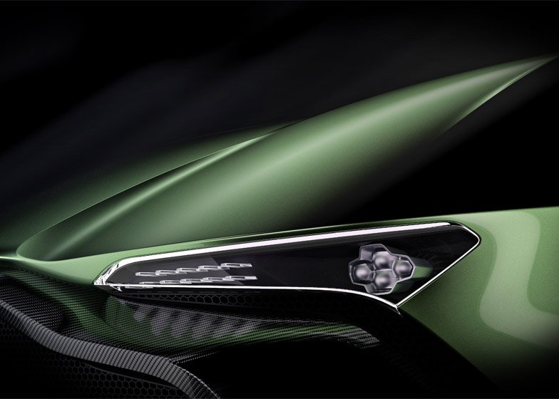 View Aston Martin Vulcan Interior