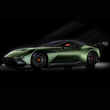 "Vulcan carbon-fibre racing car signals ""next generation"" for Aston Martin"