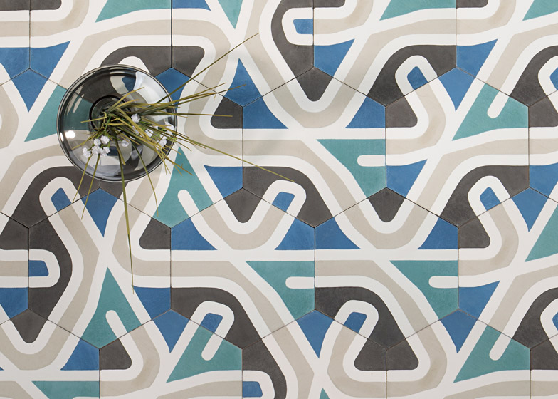 Atlas tiles by La Selva