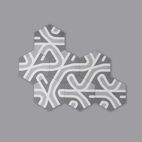 Atlas tiles by La Selva