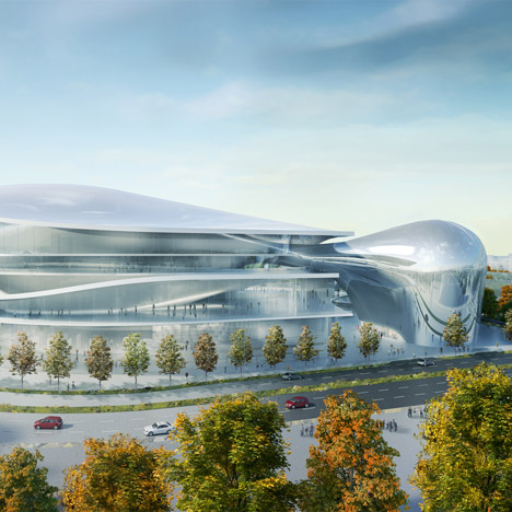 Australia Forum by Studio Fuksas