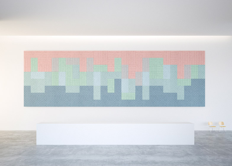 BAUX Acoustic Panels by Form Us With Love at Stockholm 2015