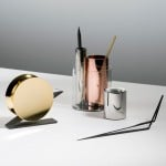 Beyond Object presents minimal metallic stationery by Poetic Lab