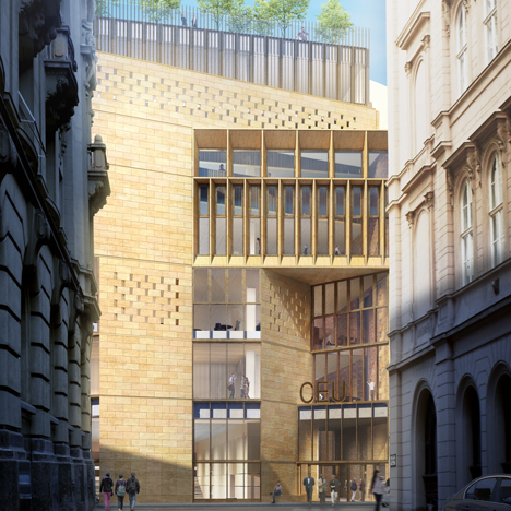 Construction starts on O'Donnell + Tuomey's<br /> Budapest university redesign
