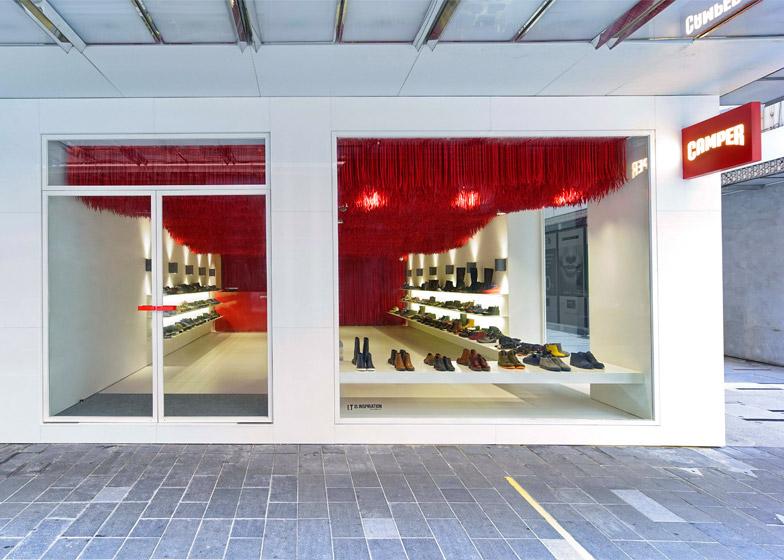 Camper store by Atelier Marko Brajovic Melbourne Australia