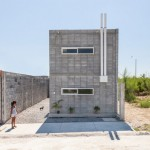 S-AR's Casa Caja is a prototype for low-cost homes that can be built by their owners