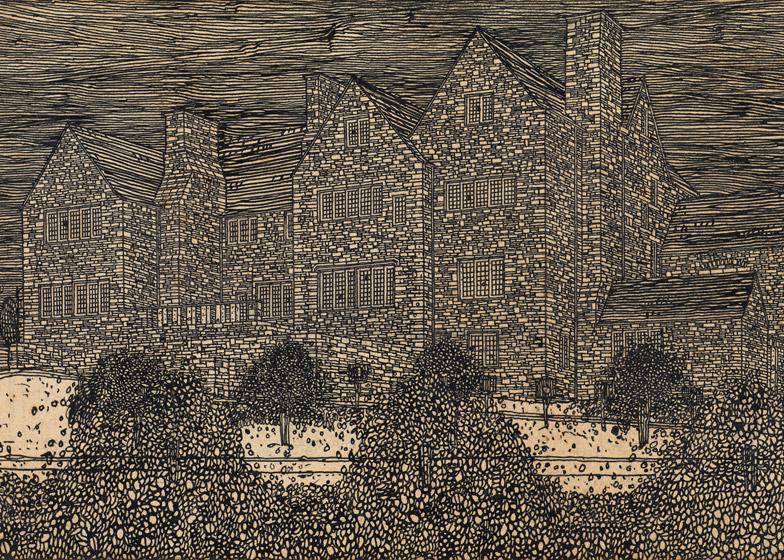 Auchinibert, Killearn by Charles Rennie Mackintosh