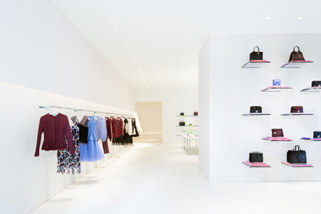 Christopher Kane store London by John Pawson