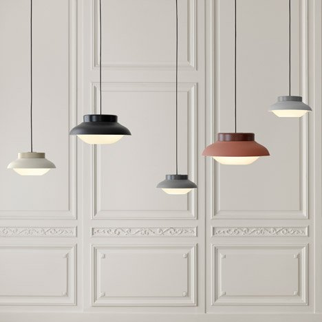 Collar lighting for Gubi by Studio Sebastian Herkner