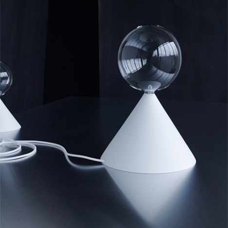 Cone lights at Etage Projects by Studio Vit