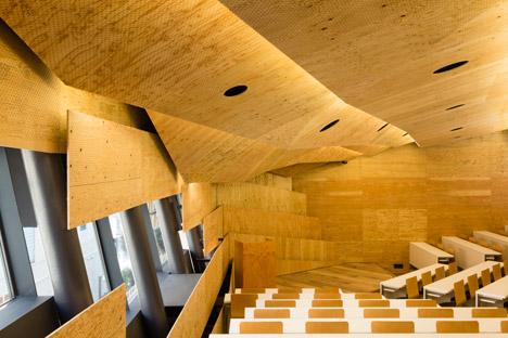 Daiwa Ubiquitous Computing Research Building by Kengo Kuma