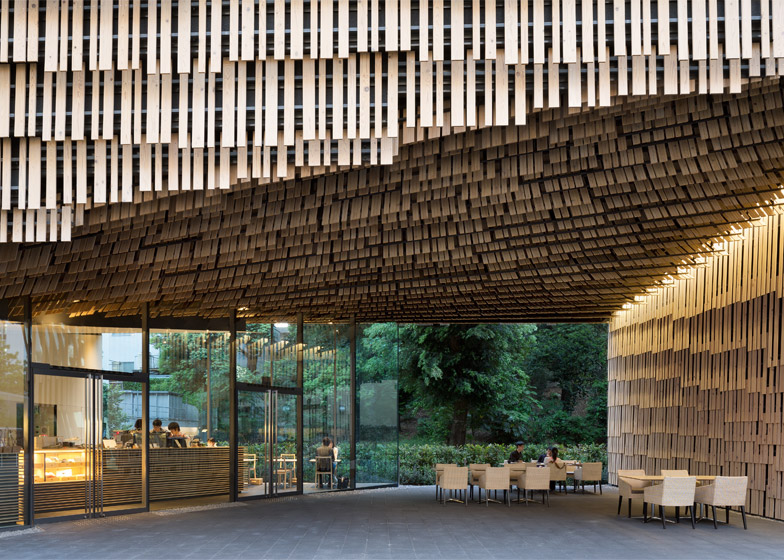 Daiwa Ubiquitous Computing Research Building by Kengo Kuma