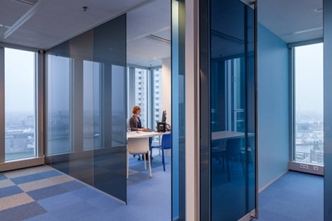 De Rotterdam interior by Studio Makkink & Bey and Group A
