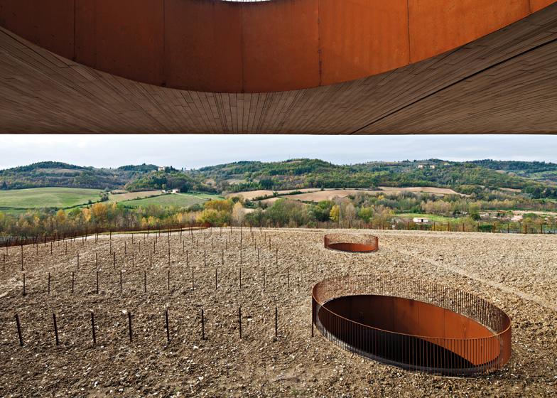 Antinori Winery, San Casciano Val di Pesa, Florence, Italy, by Archea Associati
