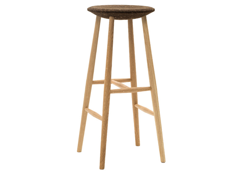 Drifted Bar Stool by Lars Beller Fjetland