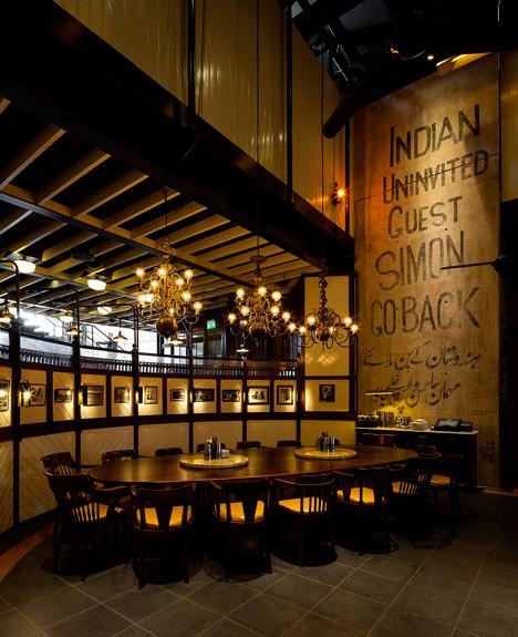 Dishoom restaurant King's Cross London