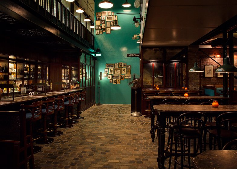 Dishoom restaurant King's Cross London