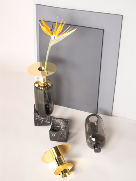 Elements vase by dan yeffet