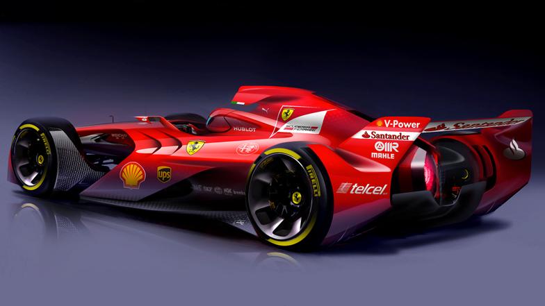 Ferrari f1 concept car