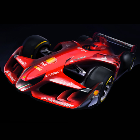 "Ferrari unveils ""aggressive-looking""<br /> Formula One concept car"