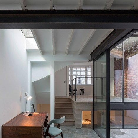 West Architecture guts a Georgian townhouse and rebuilds with industrial fittings