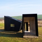 The Observatory is a mobile charred-timber artist's studio by Feilden Clegg Bradley