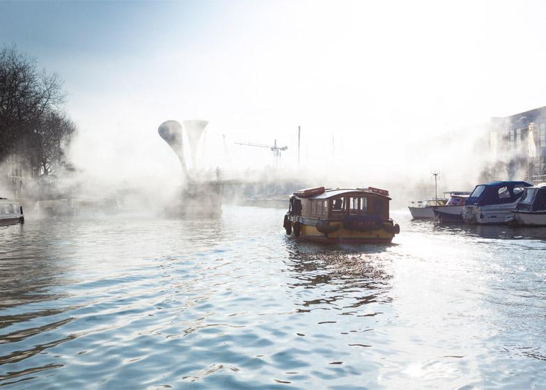Fog Bridge by Fujiko Nakaya