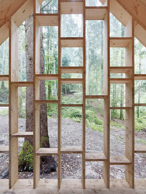 Forest Refuge by Bernd Riegger Architektur
