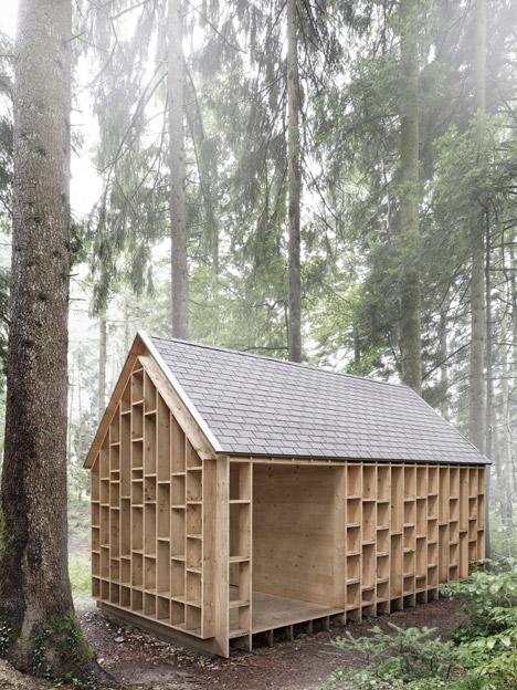 Forest Refuge by Bernd Riegger Architektur