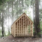 Bernd Riegger's see-through timber cabin provides shelter for a forest kindergarten