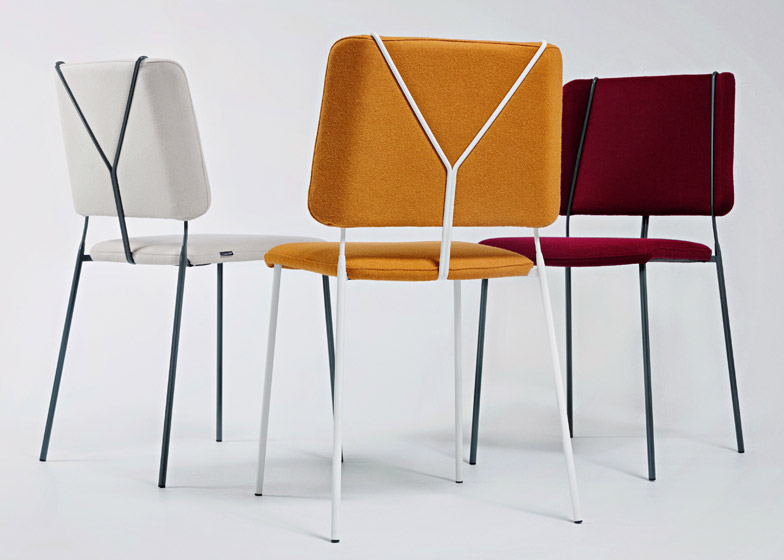 Frankie chair by Färg & Blanche