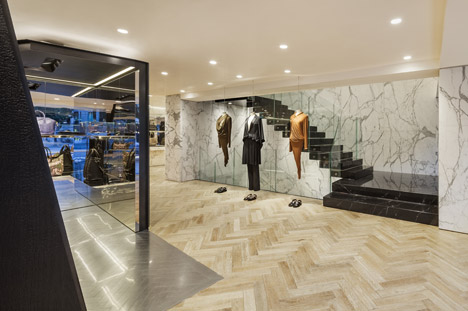 Used Designer Clothing Givenchy Japan Givenchy flagship store in