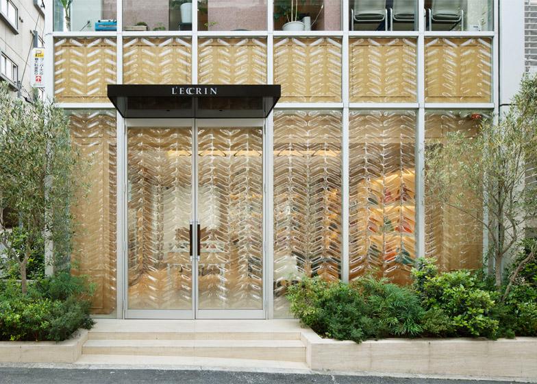 Jewel Box handbag shop by Hiroshi Nakamura & NAP