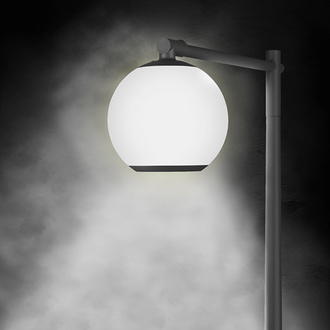 Borselius attempts to perfect traditional street lighting with Halo