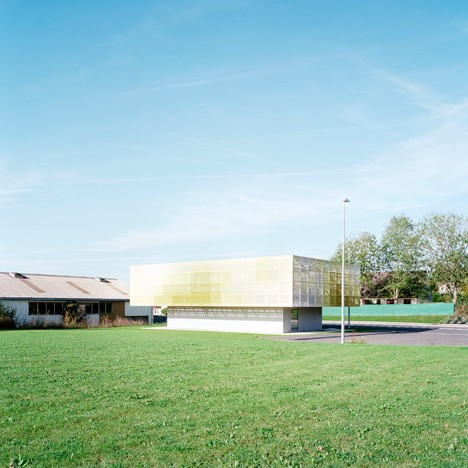 School extension at Coulommiers by Ateliers O-S Architectes
