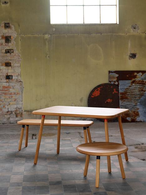 Honken furniture for Blå Station