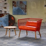 """Honken furniture for Blå Station is designed to acquire """"a beautiful patina of history"""""""