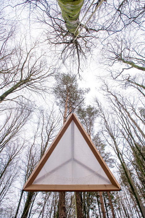 Hooke Park Tetrahedron & Big Fish by AA Design & Make