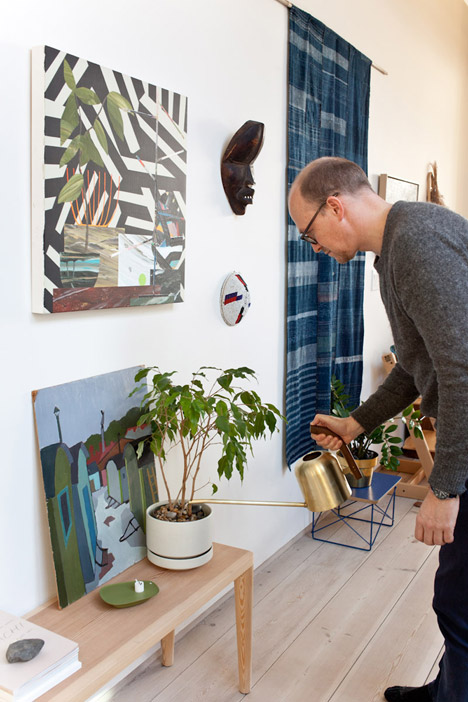 Indoor Gardening Project by Anderssen & Voll for Mjölk