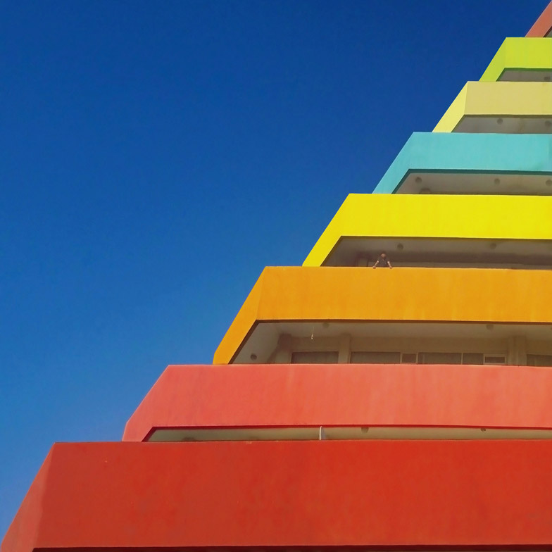 Yener Torun photographs vibrant Minimalist architecture in Turkey