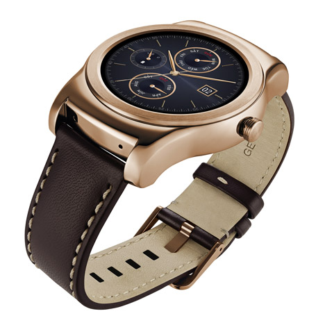 LG targets luxury market with metal smartwatch