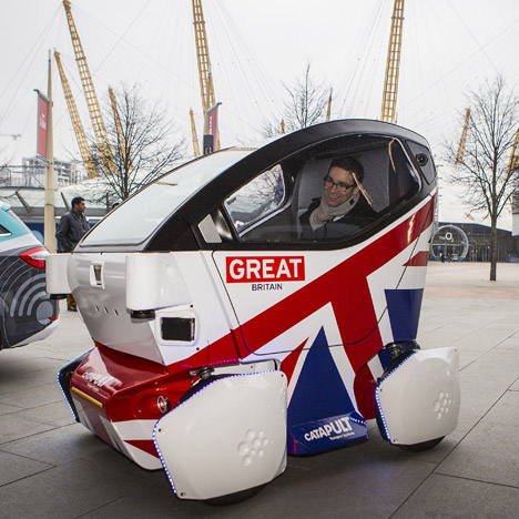 UK launches answer to Google's driverless cars