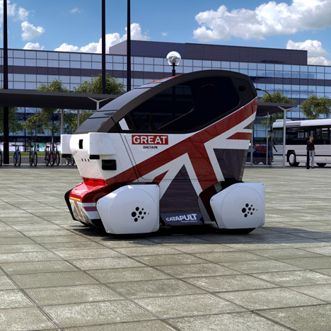 Lutz Pod by Transport Systems Catapult