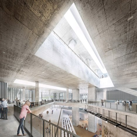 Herzog & de Meuron unveils updated design<br /> for Hong Kong M+ museum