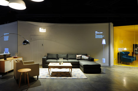 Made.com showroom by Bureau de Change