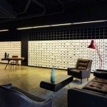 Bureau de Change combines furniture with digital projections for second Made.com showroom