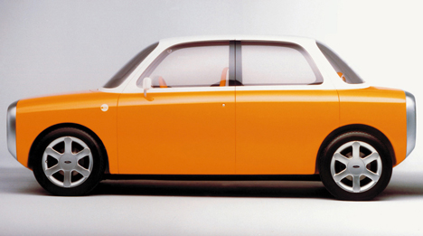 Marc Newson's concept car for Ford