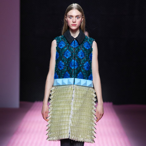 Mary Katrantzou AW15 London Fashion Week